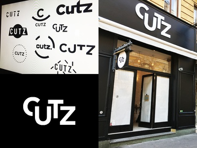 From Concept To Reality   CUTZ chocolate dough cookie icons branding brand packaging shop austria