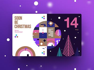 Dribbble days to christmas 14