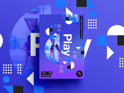 👁Made You Look👁 260 | Play beautiful postereveryday poster 2018 positive swiss typography color design motivation pantone