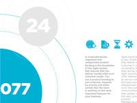 Info graphics for a network brochure 2