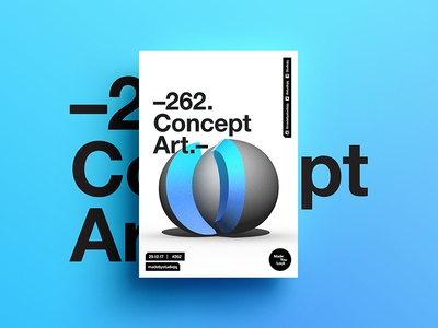 👁Made You Look👁 262 | Concept Art. 3d pantone motivation design color typography swiss positive 2018 poster postereveryday beautiful