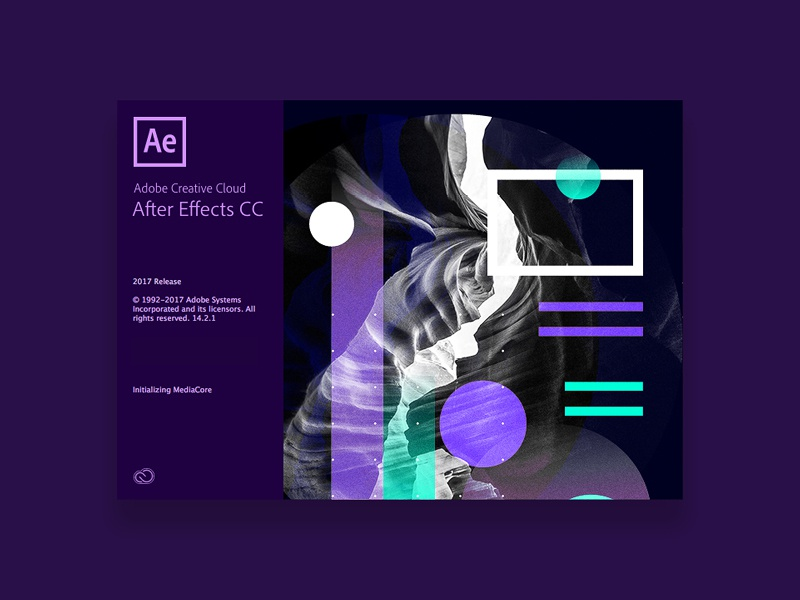 Adobe Splash Screen | Graphics aftereffects adobe branding tutorial design typography swiss 3d 2018 poster color