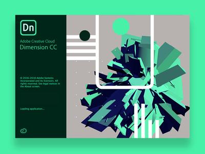 Adobe Splash Screen | Graphics aftereffects adobe branding dimensions design typography swiss 3d 2018 illustrator color