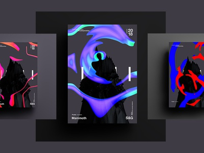 Mammoth   Skillshare abstract digitalart c4d branding tutorial design typography fantasy 3d 2018 skillshare color