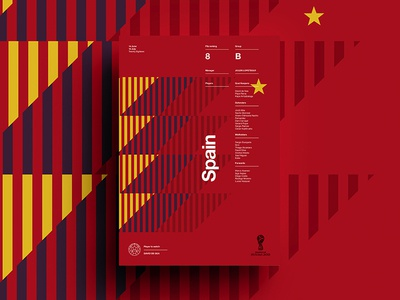 2018 FIFA World Cup Retro Posters | Spain