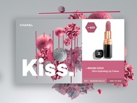 CHANEL Kiss Landing Page