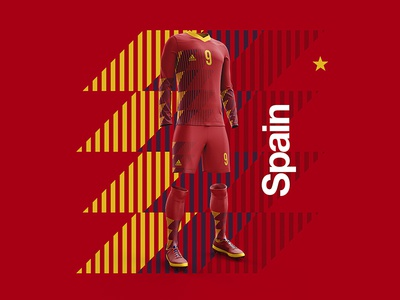 2018 FIFA World Cup Retro Kits | Spain
