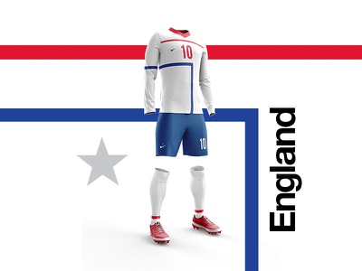2018 FIFA World Cup Retro Kits   England worldcup layout england soccer footballkit posters kit football worldcup2018