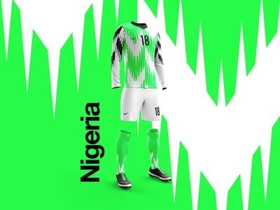 2018 FIFA World Cup Retro Kits | Nigeria