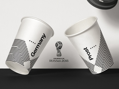 2018 FIFA World Cup Retro Cups   Germany worldcup2018 football kit posters footballkit soccer germany layout worldcup