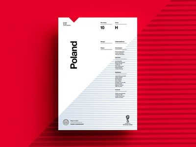 2018 FIFA World Cup Retro Posters | Poland