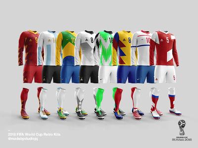 2018 FIFA World Cup Retro Kits