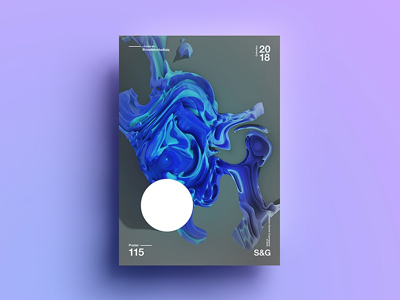 GooWave skillshare abstract gradient color type 2018 typography design tutorial art digitalart swiss