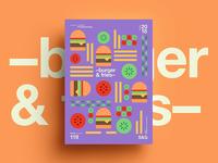 –burger&fries–