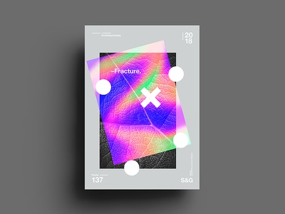 –Fracture. skillshare swiss gradient abstract color type 2018 typography design tutorial art digit