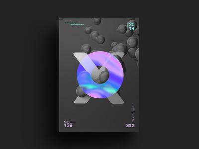 –X– skillshare swiss gradient abstract color type 2018 typography design tutorial art digit