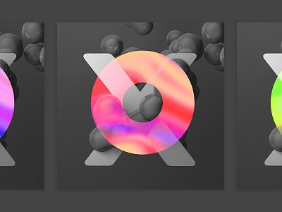 –X– digit art tutorial design typography 2018 type color abstract gradient swiss skillshare
