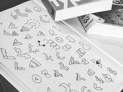 ✏️ logo freelance branding type illustration explore brainstorm sketch logmark