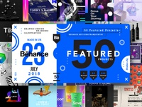 50 Featured Behance Projects
