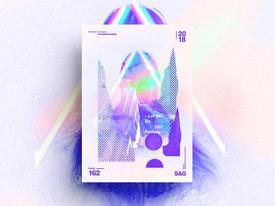 Fantasy. gradient adobe layout fantasy poster skillshare