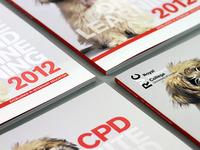 RVC CPD 2012 Brochure - Spot gloss cover presentation