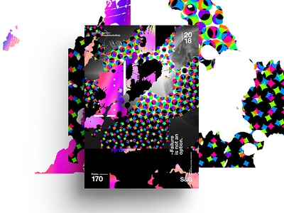 –Failure Is Not An Option. layout design typography texture swiss illustration poster branding