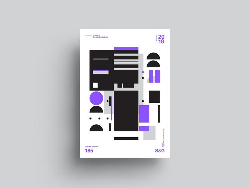 -Shape It Up type illustration poster typography branding