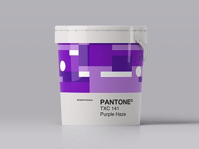 PurpleHaze packaging branding color patterm paint pantone