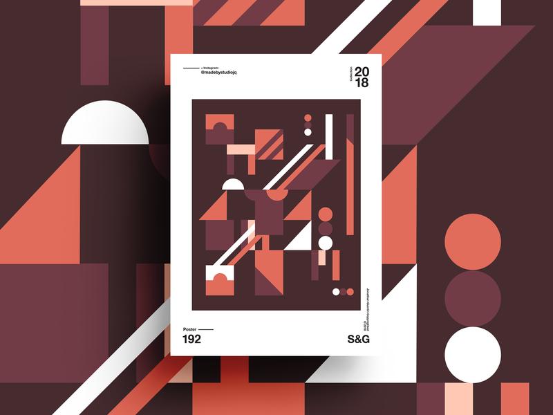 –AutumnAspen posteraday form design minimal autumn shape form psoter
