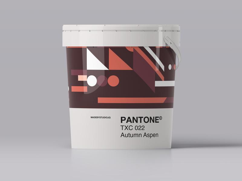 –AutumnAspen palette design branding shape form color pantone