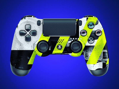 Toxic playstation controller design sony ps4
