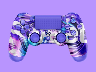Sweet | PS4 Controller sweet abstract design sony dualshock playstation4 playstation ps4