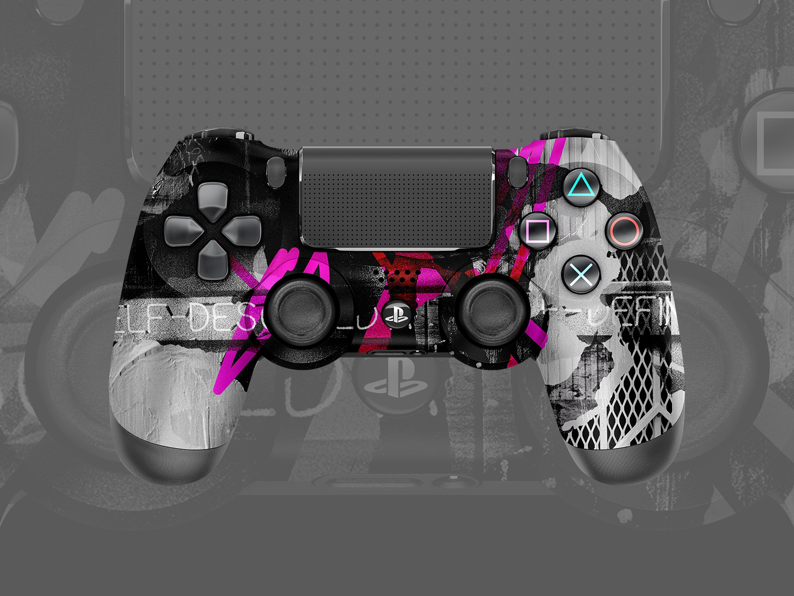 Ps4 controllers mockup design10 dribbble
