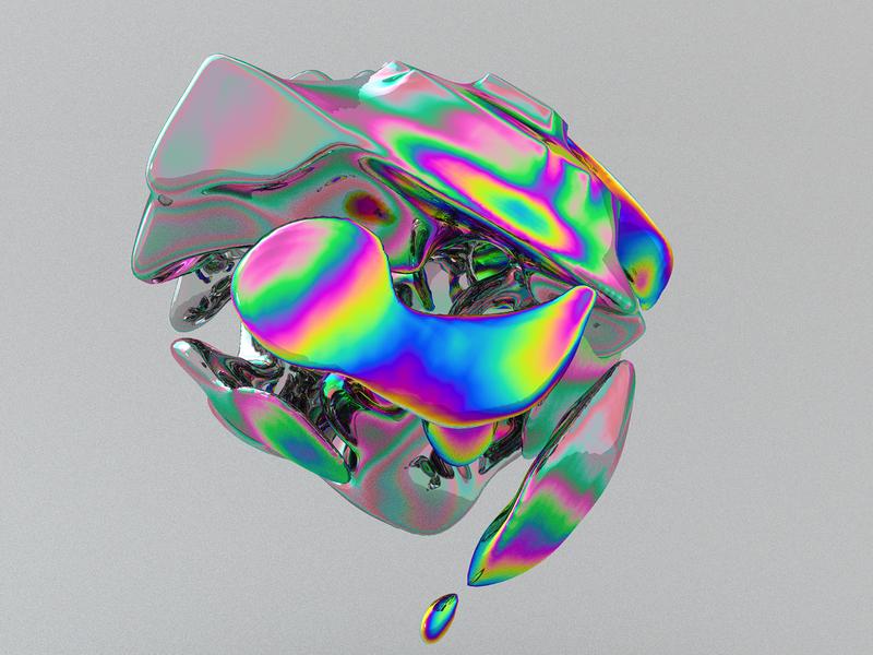 –LiquidFlow abstract art maxon octanerender octane c4d cinema4d