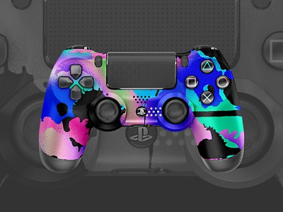 Escape | PS4 Controller skin gamer gaming controller playstation4 sony playstation ps4