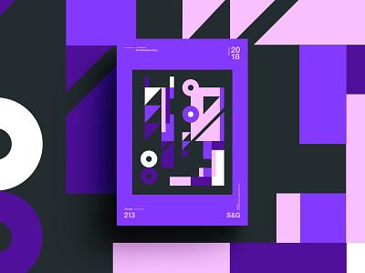 –Autumn Mist pattern poster palette design branding shape form color pantone