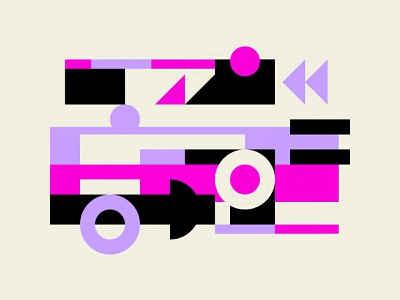 –Block City city design poster illustration color branding freelance illustrator