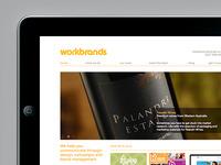 Workbrands website (Brand refresh)