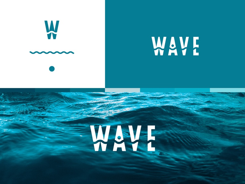 LOGOTen | Wave waves wave gradient illustration icon vector branding color type typography design logo illustrator cc2019 adobe