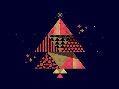'Tis the Season | 18 pattern christmastree xmastree pantone2019 christmas illustration xmas stamps illustator illustration art type design art