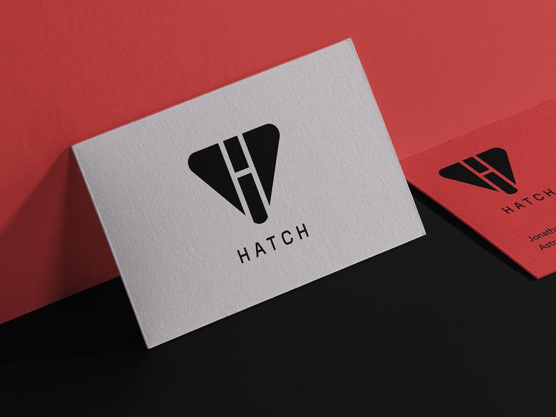 LOGOTen | Hatch space astronaut adobe cc2019 illustrator logo design typography type color branding vector icon illustration