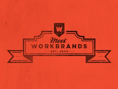Meet the team WB logo - Some tweaks logo icon orange texture