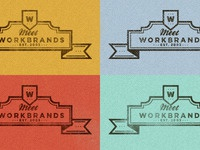 Meet the team WB logo - Colour Palette