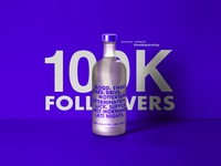 100K Instagram Followers