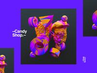 –Candy Shop.–
