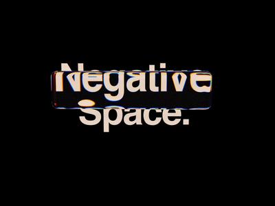 Negative Space. poster cinema4d c4d octane octanerender octane render art fantasy surreal abstract 2019 satisfying satisfyingvideo animation motion