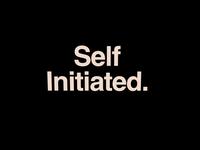 Self Initiated.