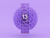Purple Patch: Minimal Watch Concept