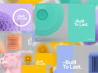 –Built To Last™ | Layout Explorations