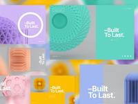 –Built To Last™ | Layout Explorations